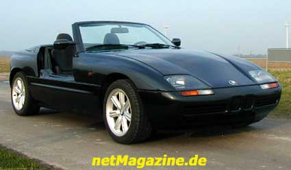 netmagazine bmw z1 roadster der lkassiker von bmw. Black Bedroom Furniture Sets. Home Design Ideas
